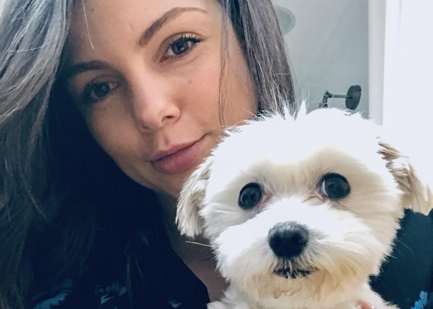 Karolina Gorczyca pies